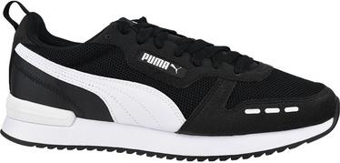 Кроссовки Puma R78, белый/черный, 45