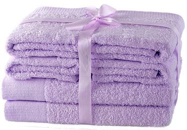 Dvielis AmeliaHome Amari 23868 Purple, 70x140 cm, 6 gab.