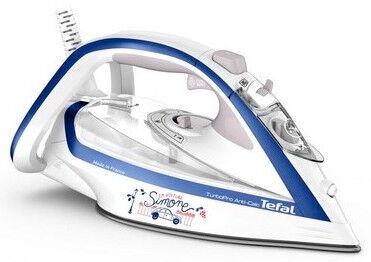Утюг Tefal Turbo Pro FV5677E0, синий/белый