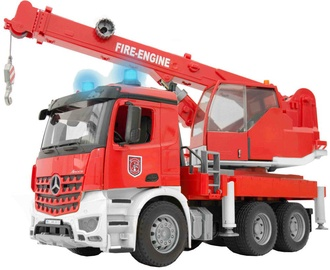 Bruder Mercedes Benz Arocs Fire Department Crane 03675