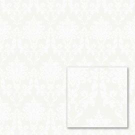 Tapetas flizelino pagrindu, Sintra, 356906, Milano, žalsvas, baltas, klasikinis