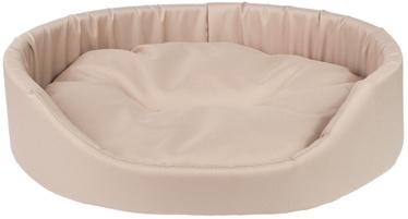 Amiplay Basic Oval Bedding XXXL 100x89x19cm Beige