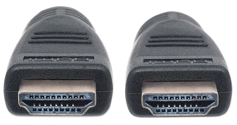 Manhattan Cable HDMI To HDMI With Ethernet Black 10m