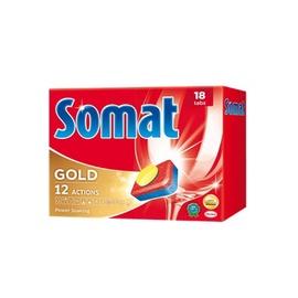 Indaplovių tabletės Somat Gold, 18 vnt.