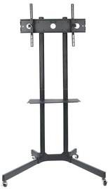 Televizoriaus laikiklis ART TV Holder Board On Wheels For 30-65'' Black