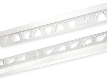 Plaadiliist 019001, 9 mm/2,5 m, valge