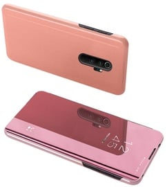 Hurtel Clear View Case For Xiaomi Redmi Note 8 Pro Pink