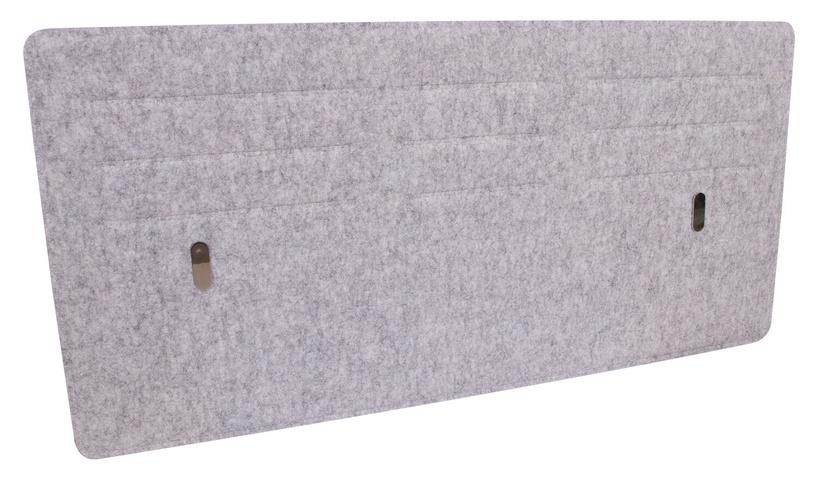 Home4you Desktop Panel 118x58cm Grey