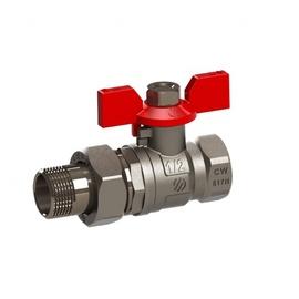 """Kolektoriaus ventilis Arco VA30, tiesus, 1"""", vidinis/išorinis sriegiai"""