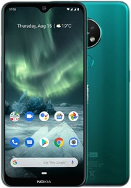 Mobilus telefonas Nokia 7.2 4/64GB Dual Cyan Green