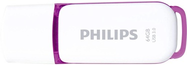 Philips USB Snow Edition 64GB Purple