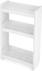 Songmics Storage Rack White 45x68.5cm