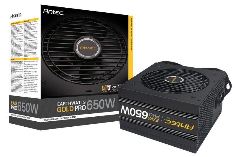 Antec EarthWatts Gold Pro PSU EAG Pro 650W