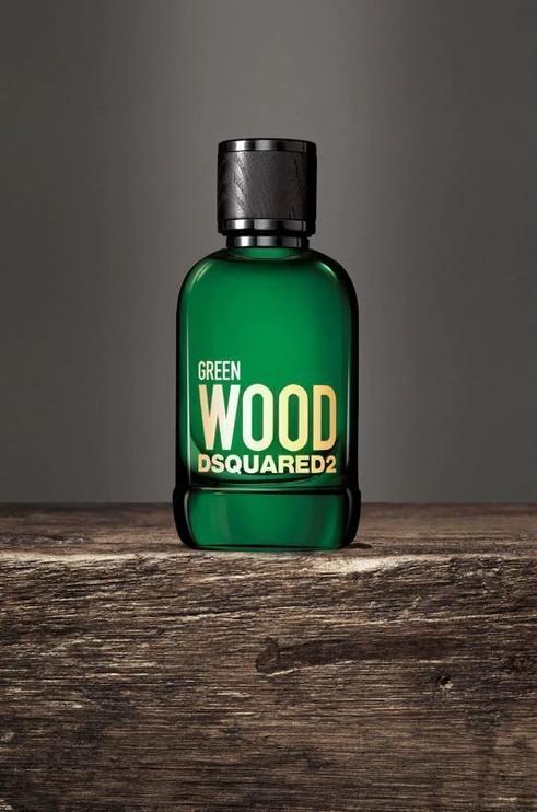 Набор для мужчин Dsquared2 Green Wood 3pcs Set 150ml EDT