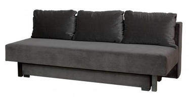 Bodzio Afrodyta Sofa Velor Dark Gray