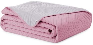 Gultas pārklājs AmeliaHome Softa Pale Pink/Pearl Silver, 240x260 cm