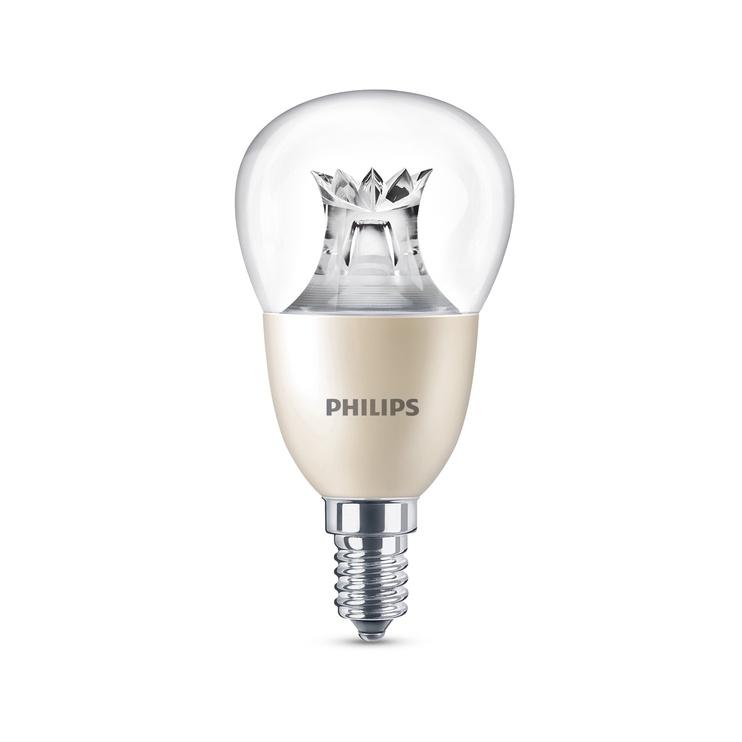 SPULDZE LED P50 8W E14 WW CL WGD 806LM (PHILIPS)