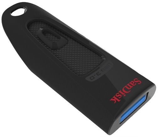 USB atmintinė SanDisk Ultra Black, USB 3.0, 256 GB