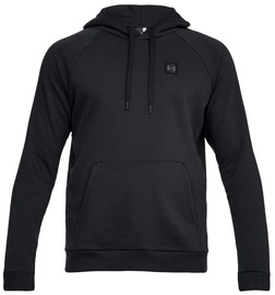 Under Armour Mens Rival Fleece Hoodie 1320736-001 Black XL