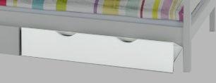 Halmar Sam Bed Drawer White