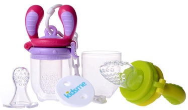 Kidsme Food Feeder Starter Pack Lime/Lavender
