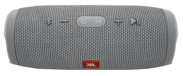 JBL Charge 3 Waterproof Portable Bluetooth Speaker Grey