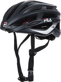 Шлем Fila LED 60751060, черный/красный, L, 510 - 520 мм