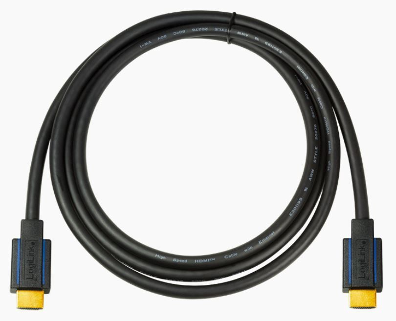 LogiLink Cable HDMI / HDMI Black 7.5m