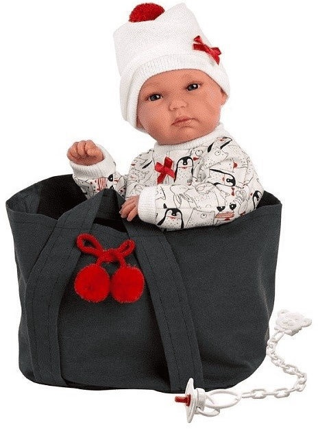 Llorens Doll Bimba With Bag 35cm 63554