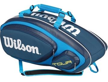 Спортивная сумка Wilson Tour V 9, синий