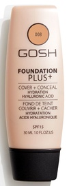 Gosh Foundation Plus+ Cover + Conceal SPF15 30ml 8