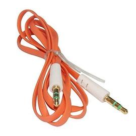 Mocco Flat Premium 3.5mm To 3.5mm AUX Cable 90cm Orange