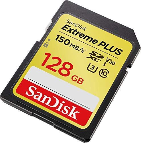Карта памяти SanDisk Extreme Plus 128GB SDXC UHS-I Class 10