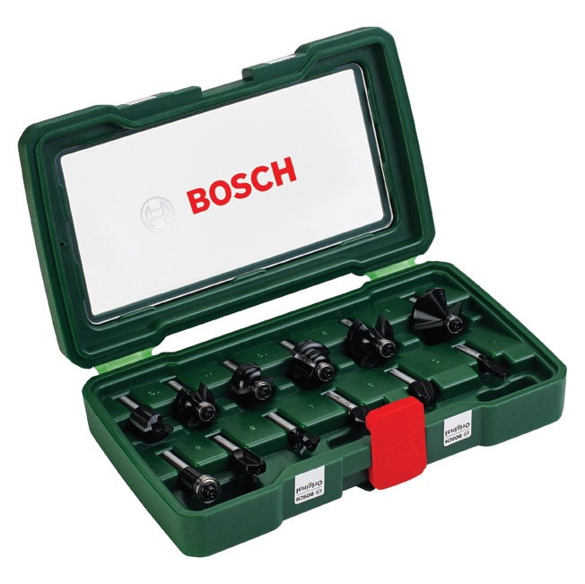 Frezų komplektas Bosch 12 vnt