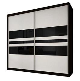 Idzczak Meble Wardrobe Multi II 01 203cm Black