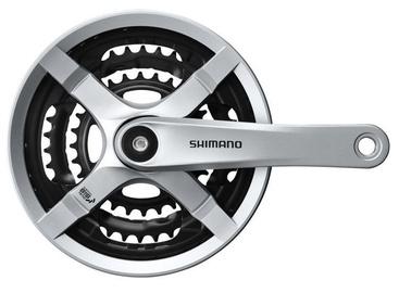 Shimano FC-TY501 48/38/28T 170mm Black/Silver