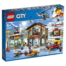 Konstruktorius LEGO® City 60203 Slidinėjimo kurortas