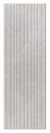 Akmens masės plytelės Nisida Light Grey STR, 75 x 25 cm