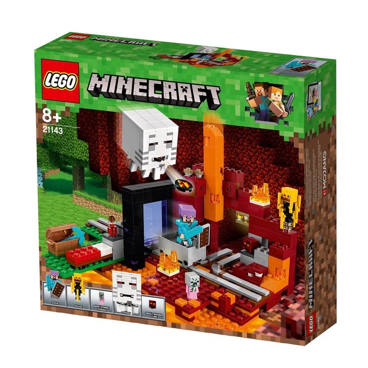 Konstruktors Lego Minecraft 21143