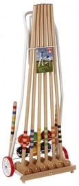 Londero Croquet Cart Set 100cm 6 Players Metal