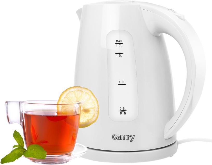 Электрический чайник Camry CR 1255 White