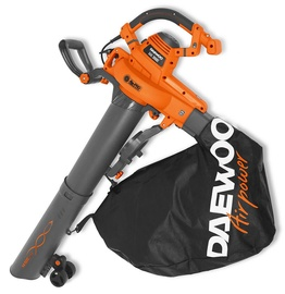 Daewoo DABL 3000E Electric Leaf Blower And Vacuum Grey/Orange