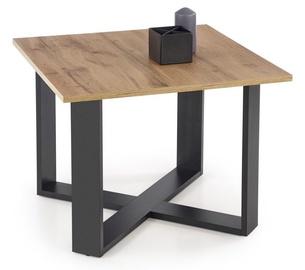 Kafijas galdiņš Halmar Cross, ozola, 670x670x500 mm
