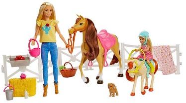 Кукла Mattel Barbie With Horses & Accessories FXH15