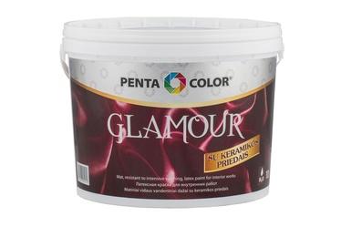 Dispersiniai dažai Pentacolor Glamour, balti, 10 l