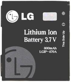 LG LGIP-470A Original Battery 800mAh