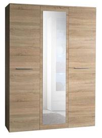 ASM Big Wardrobe w/ Mirror Sonoma Oak