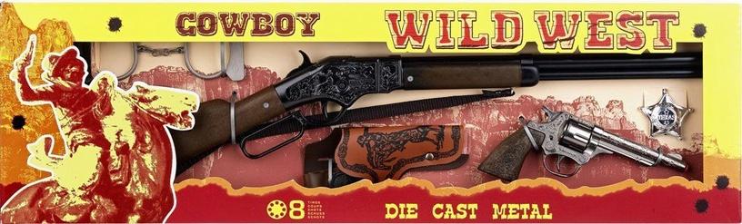 Rotaļlietu ierocis Gonher Cowboy Wild West Set 498/0
