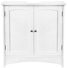 Songmics Washbasin Cabinet White 60x60x30cm