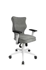 Entelo Perto White AT03 Office Chair Navy Grey